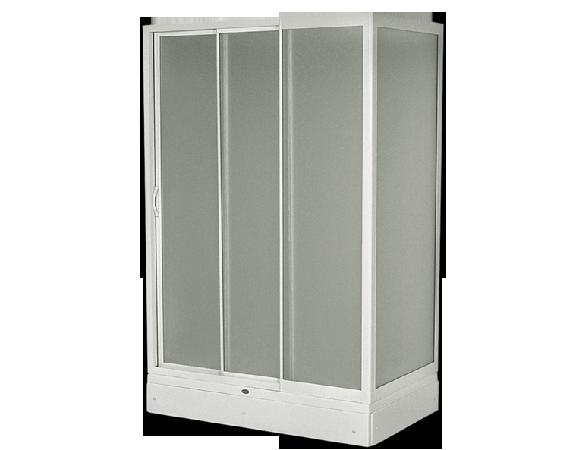 Neu U-Form Duschkabinen, duschkabine, dusche, Glasdusche Eck  QC36