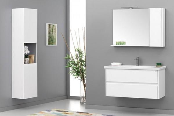 Duden Badmöbel Doppel Waschbecken Doppelwaschtisch Badezimmer